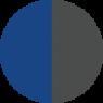 Niebieski - Szary