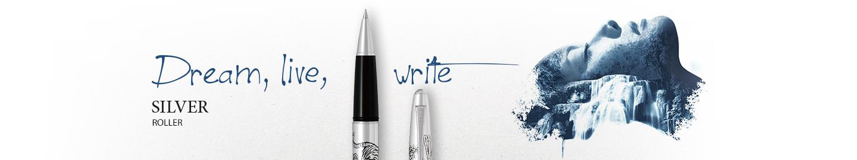Pilot - Fine writing - Silver roller