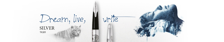 Pilot - Fine writing - Silver tiger