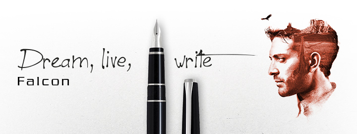 Falcon Black - Pilot Fine Writing