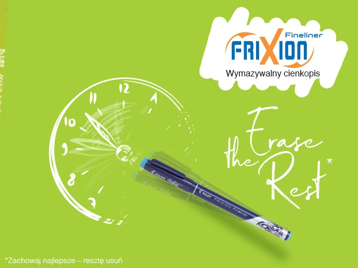 Pilot FriXion Fineliner Cienkopis