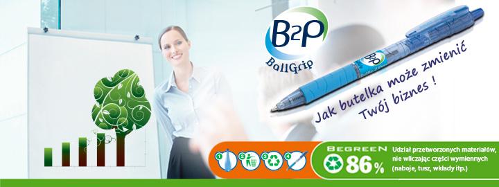 Pilot B2P - Długopisy olejowe