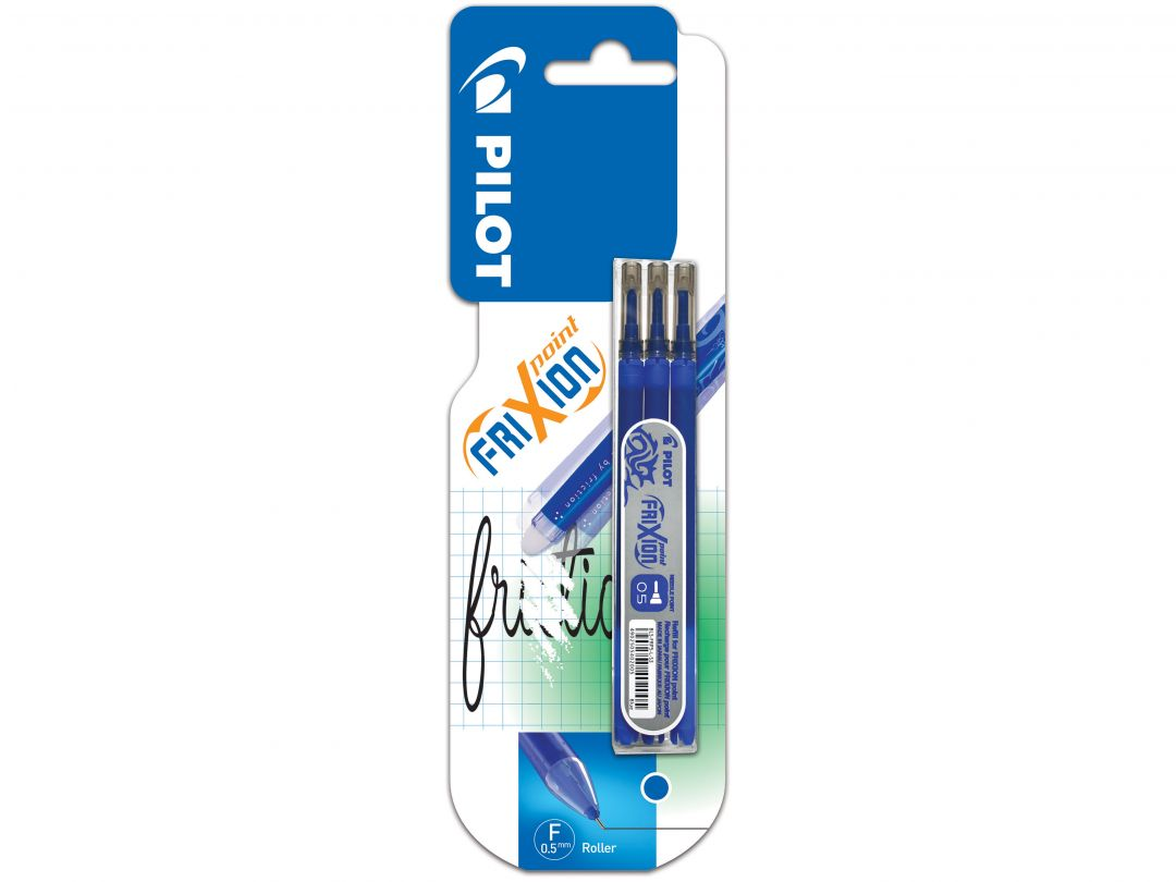 Blis 3 Refills Set FriXion Point 0.5 Blue