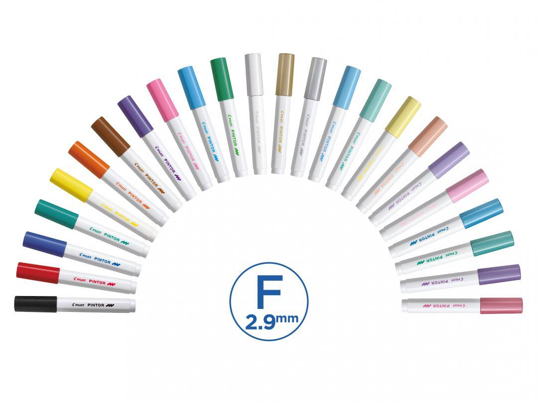 Pilot Pintor - Fine - Markery - Kategorie produktów - Kolekcje
