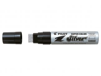 Super Color - Marker - Srebrny - Extra Broad