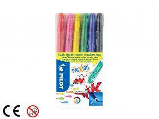 FriXion Colors - Zestaw 6 sztuk - Assorted colors - Medium