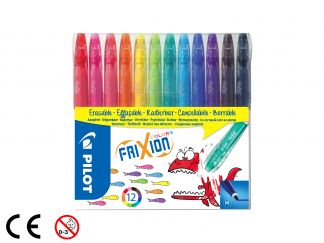 FriXion Colors - Zestaw 12 sztuk - Assorted colors - Medium